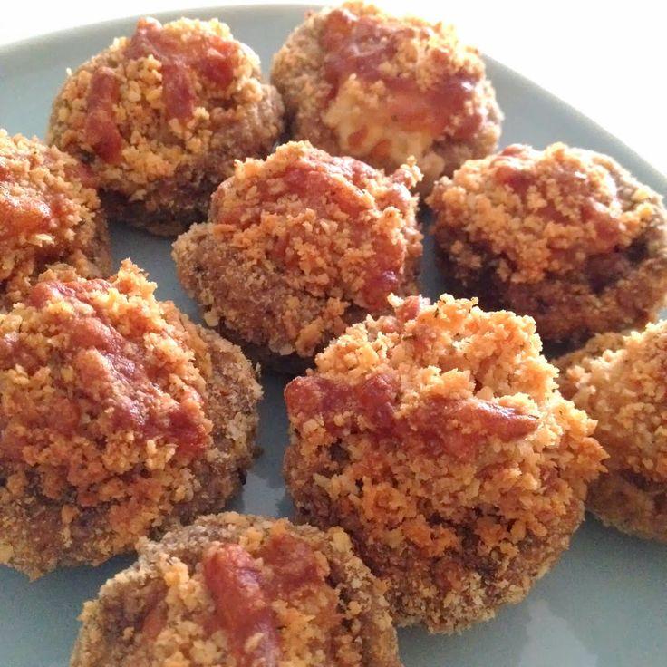 Crusted Parmesan Mushrooms (Air Fryer Recipe)