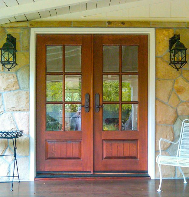 25 best ideas about craftsman front doors on pinterest for Exterior back doors with glass