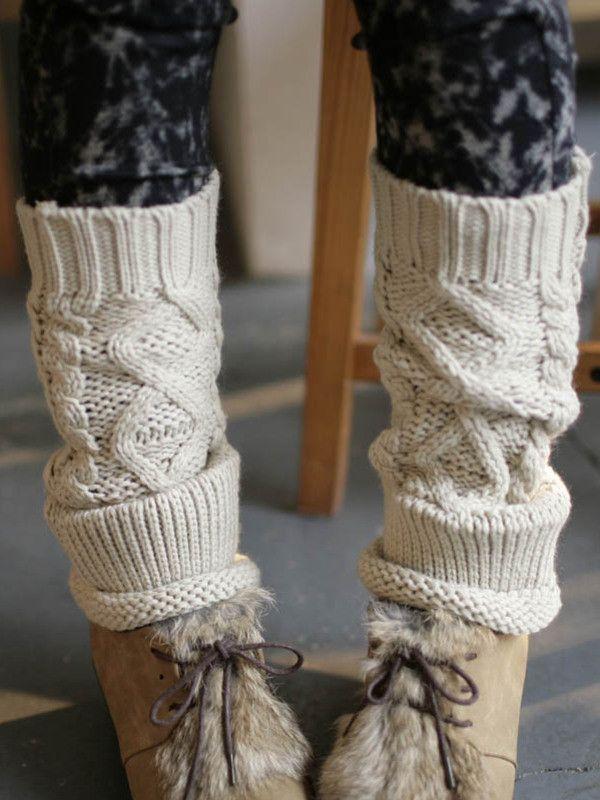 slouchy leg warmers $18  #asianicandy #asianfashion #kawaii