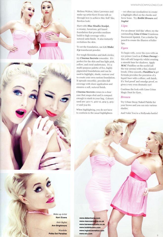 Barbie Doll. Editorial by Module 3 Graduate Kerri Evans