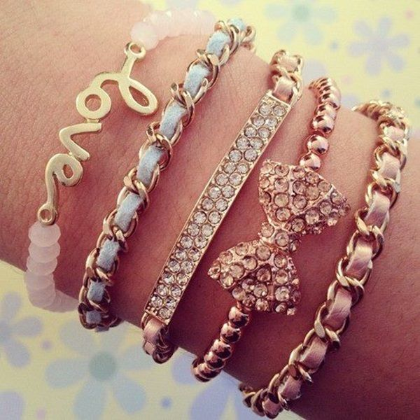 40 Cute Bracelet Ideas For Girls | http://fashion.ekstrax ...