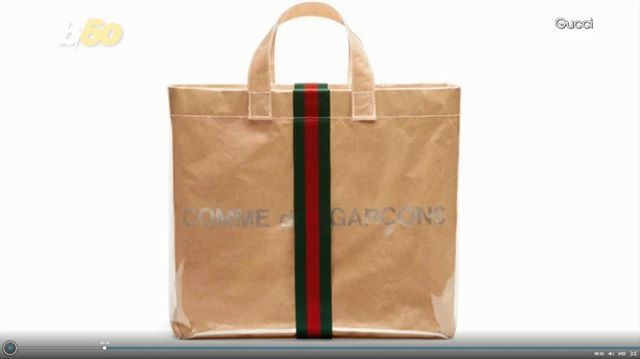 Gucci And Comme Des Garçons Made A Bag Together Video S