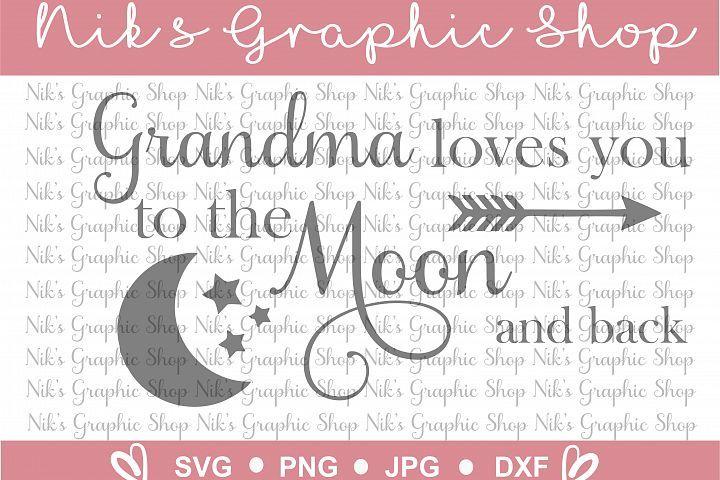 Download Grandma SVG, Grandma loves you svg, Moon Svg, Moonshine ...