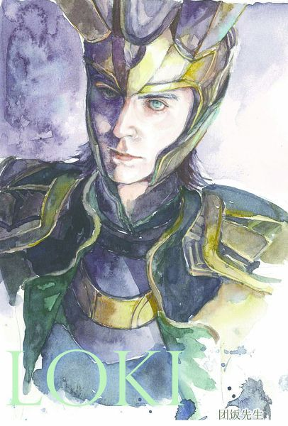 "Tom Hiddleston ""Loki"" Fan art"
