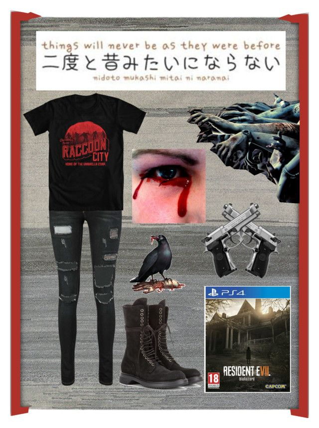 Playing Resident Evil VII (7) by justonebadday on Polyvore
