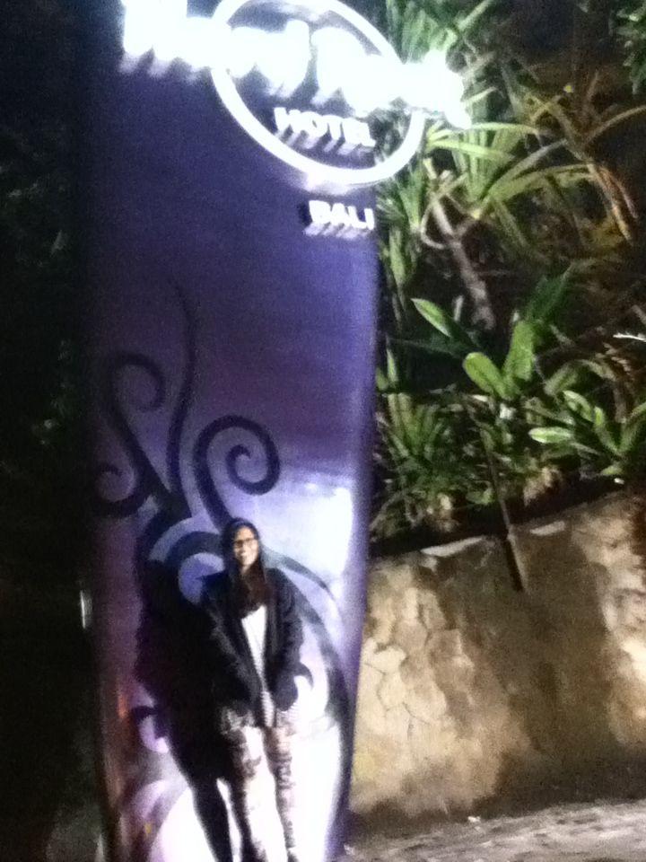 saturday night at Kuta, Bali.