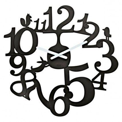 Black And White Wall Clock best 25+ black wall clocks ideas on pinterest | black clocks, wall