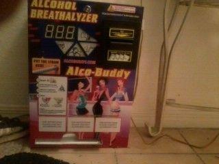 Alcohol Breathalyzer Vending Machine