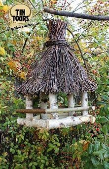 Zobacz zdjęcie Drewniany karmnik dla ptaków od koszyki.net.pl