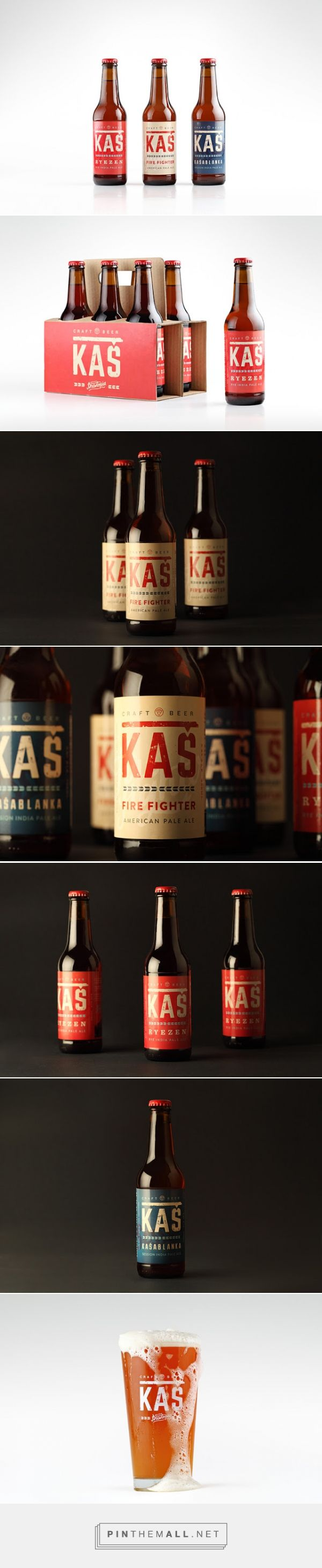 KAS Beer - Packaging of the World - Creative Package Design Gallery - http://www.packagingoftheworld.com/2016/01/kas-beer.html