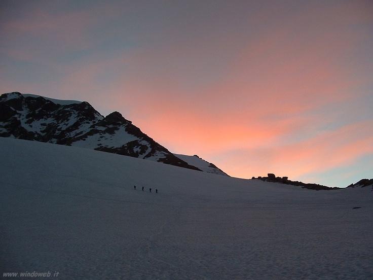 sopra i 4000 mt #piramidevincent #monterosa #gressoney