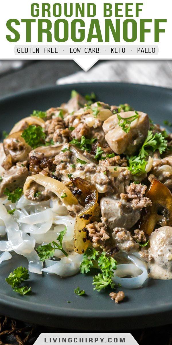 Ground Beef Stroganoff Recipe In 2020 Ground Beef Stroganoff Paleo Recipes Dinner Beef Recipes
