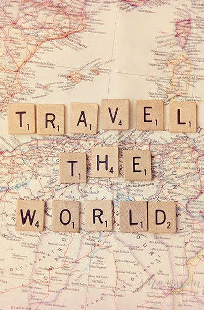 travel photography world journey map