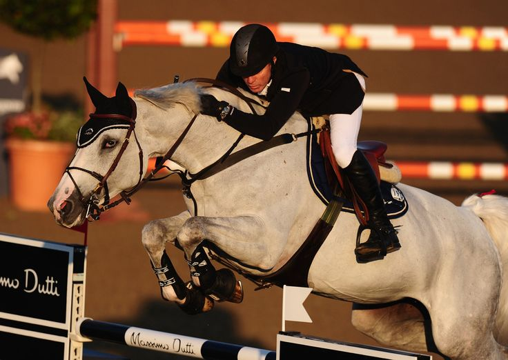 Michael Whitaker Photos: Longines Global Champions Tour of London: Day 1