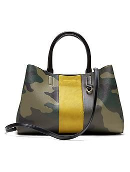 Mini Larkin Haircalf Stripe Tote Banana Republic Accessories In 2018 Pinterest Handbags And Leather