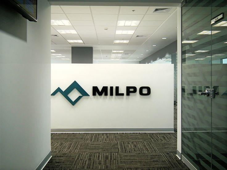 Ingreso, oficinas Milpo. // Diseño: S-XL Arquitectos. sxl arq.