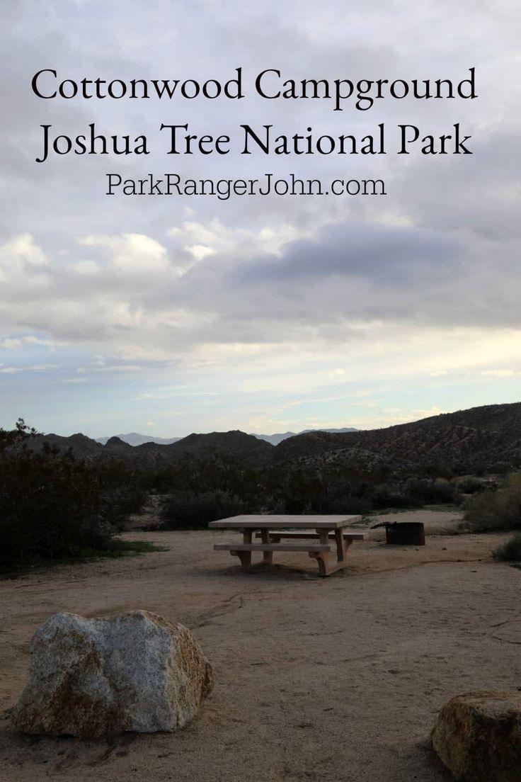 Cottonwood Campground Joshua Tree National Park Joshua
