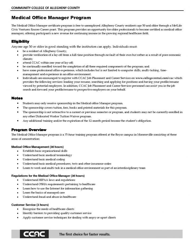 Sample Resume Of Help Desk Manager Office manager resume