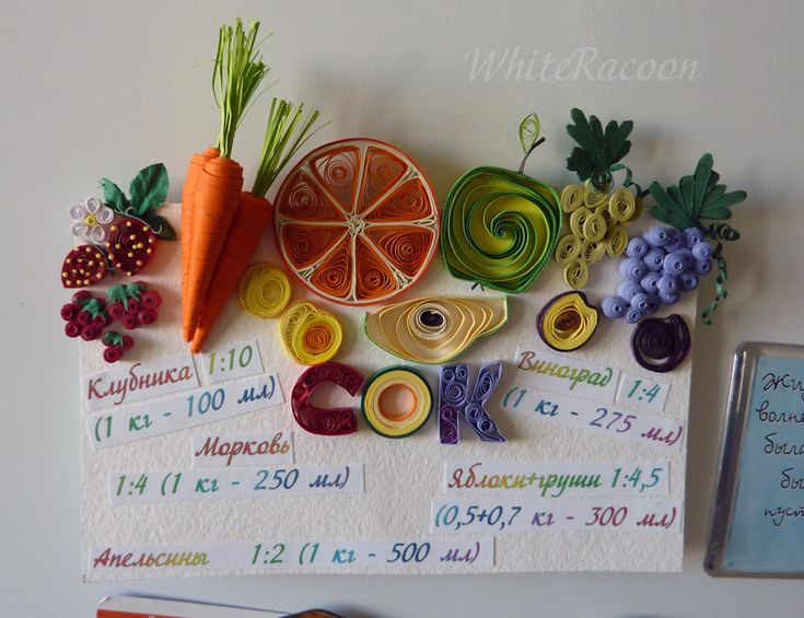 108 best images about foods drinks or kitchen tools often for Quilling kitchen set