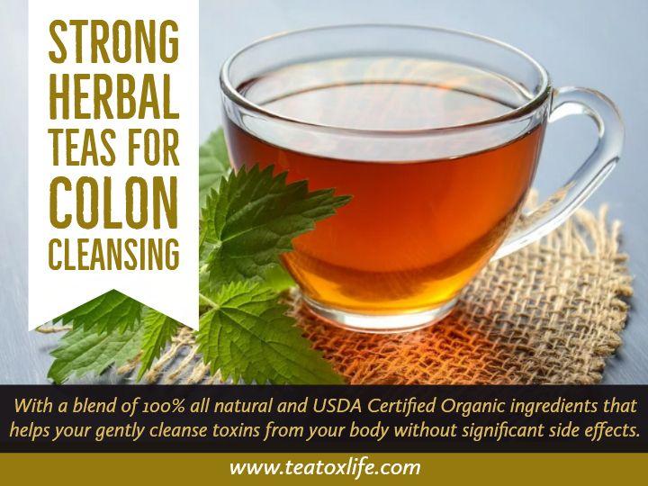 ceai de colon detox
