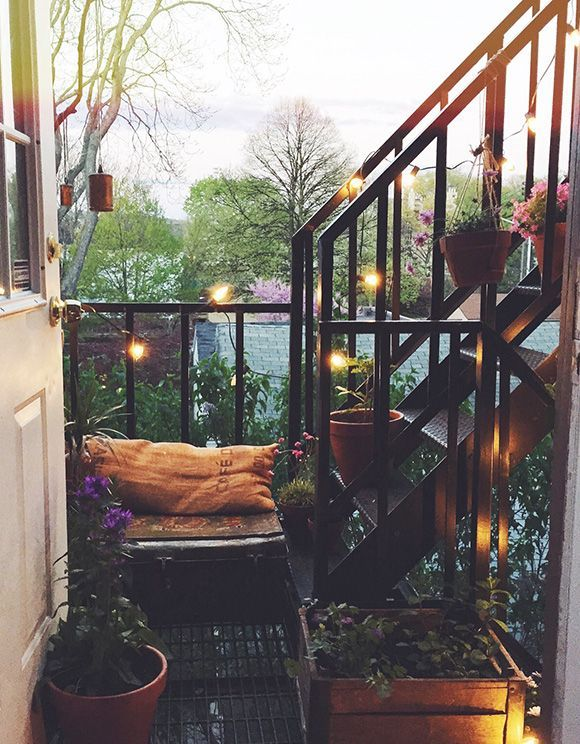 Small balcony in Paris