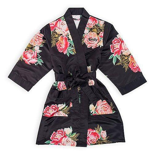 Personalized Silk Kimono