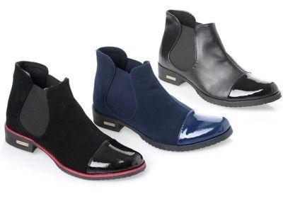 Polskie Botki Sztyblety Nosek Skora Kolory 36 41 6024964531 Oficjalne Archiwum Allegro Chelsea Boots Shoes Boots