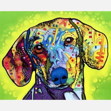 Dachshund now featured on Fab.Canvas Prints, Dean Russo, Dean O'Gorman, Dogs Art, Art Prints, Deanrusso, Animal Prints, Art Pop, Dachshund Prints