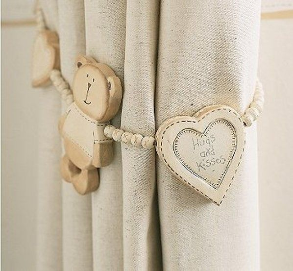12 Ideas Of Kids' Curtain Tie Backs