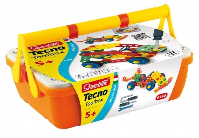 Quercetti Tecno toolbox 5 jr+