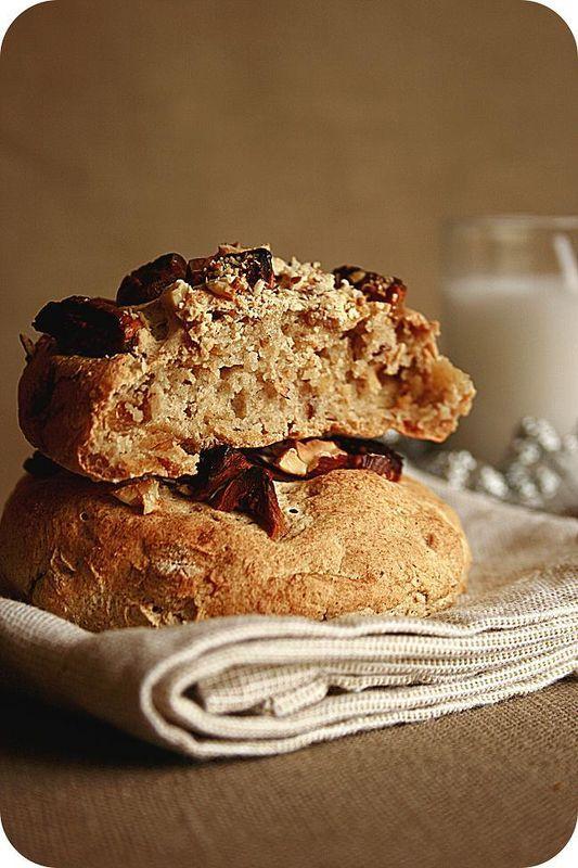 petits pains sans gluten à la farine de chataîgne