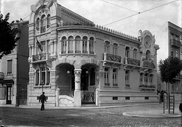 Lisboa de Antigamente: Palacete da Praça do Duque de Saldanha