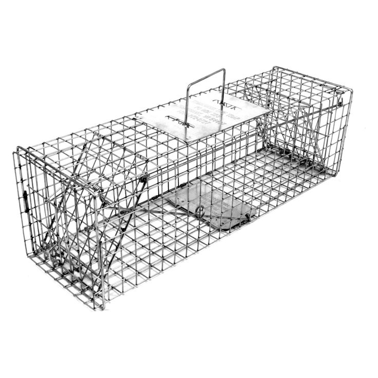 Tomahawk Original Series Rigid Trap with Two Trap Doors for Skunks/Possums/Prairie Dogs - 105.5