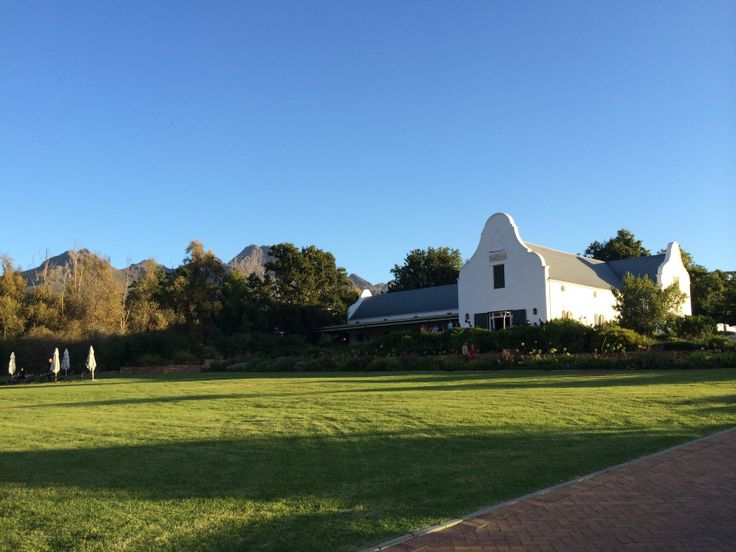 Dornier wedding venue, Stellenbosch.