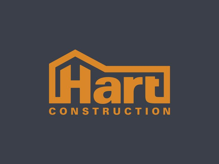 Hart Construction Logo by Caleb Alba                                                                                                                                                                                 More