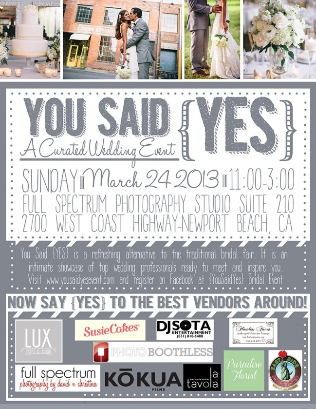 11 best Bride by the Bay images on Pinterest Bridal show - wedding flyer