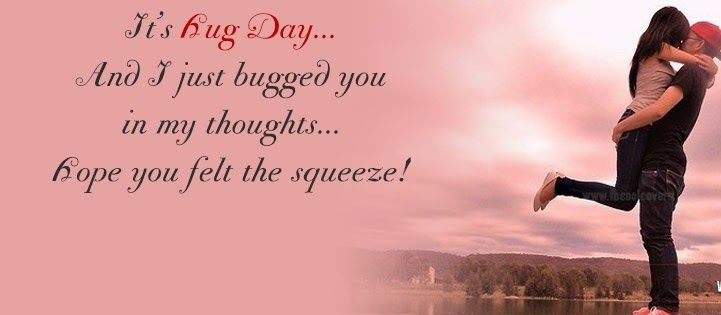 Happy Hug Day Messages For Boyfriend