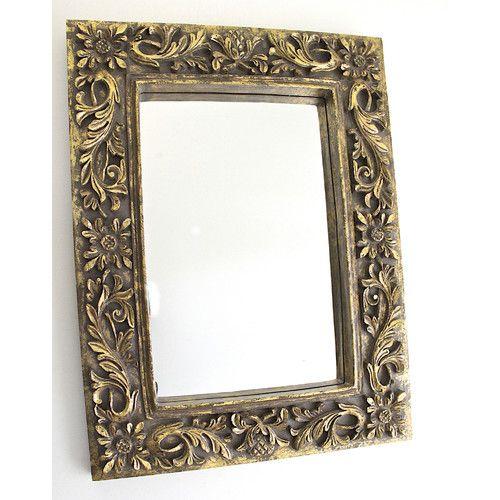 Mes Homewares Wood Mirror