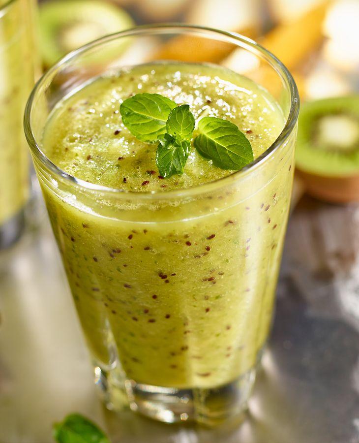 Smoothie z kiwi i miętą #lidl #przepis #smoothie #kiwi #mieta #ryneczeklidla