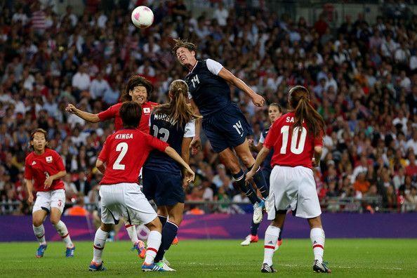 Abby Wambach - Olympics Day 13 - Women's Football Final - Match 26 - USA v Japan