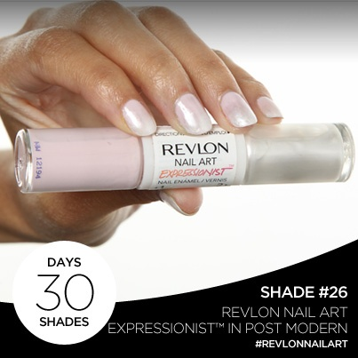 23 best revlon nails images on pinterest revlon nail polish day 26 of 30 days 30 shades is revlon nail art expressionist in post modern prinsesfo Gallery