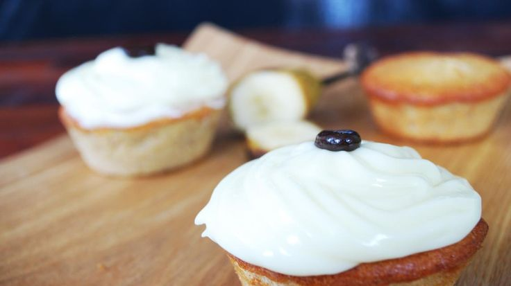 Bananencupcake | VTM Koken