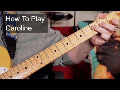 Status Quo - Caroline Guitar Lesson Tutorial #1 Main Opening Riff - YouTube