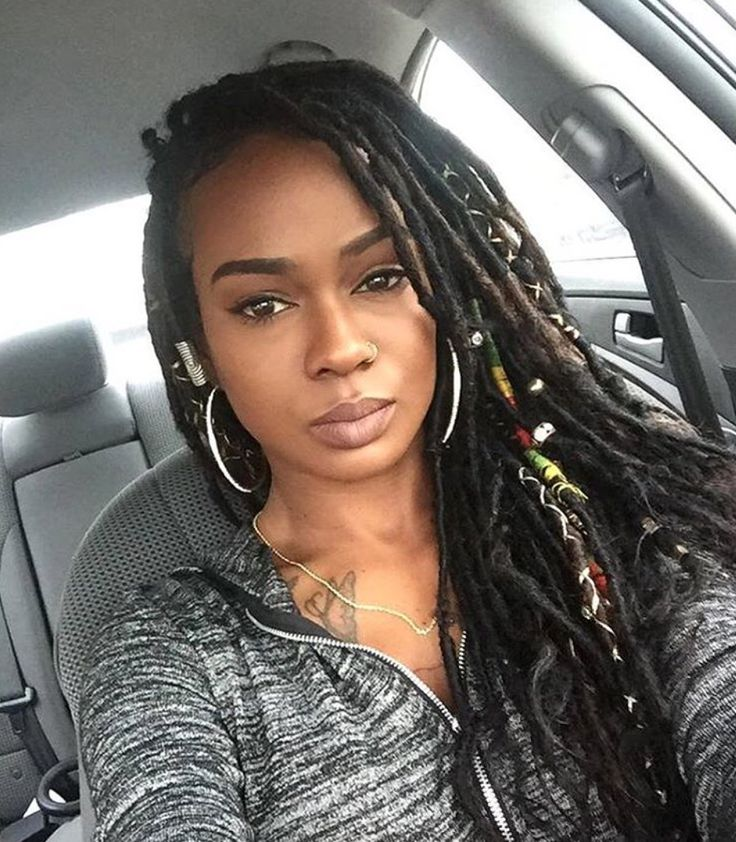 Gorgeous faux locs @itsmilan_baby - https://blackhairinformation.com/hairstyle-gallery/gorgeous-faux-locs-itsmilan_baby/