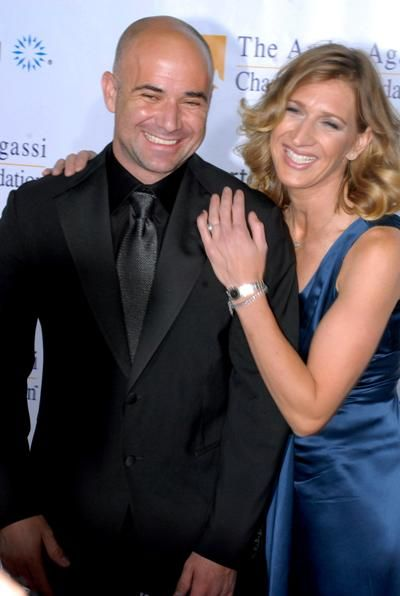 ANDRE AGASSI AND STEFFI GRAF Andre+Agassi+Steffi+Graf | Andre Agassi si Steffi Graf