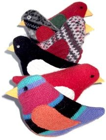 Birds of a Sweater Cat Toys