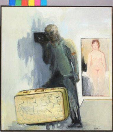 Simon Stone - A Retrospective Exhibition (Artwork entitled 'Intimate Distance') #StandardBank #Gallery #Art