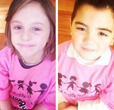 These adorable brothers are supporting #pinkshirtday too! Go #ptpapink team! :) #antibullying