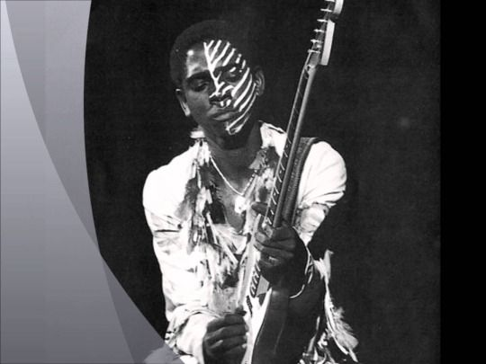 """Eddie Hazel    """"Maggot Brain"""" was a feeling. Getting off a fucking airplane, man, and walking down Broadway in New York with my guitar on my back and not really feeling good. So now I walk in the studio, and they say, """"Eddie play,"""" and I just played. That's where it came from. One take.    Funkadelic - Maggot Brain (Live, 1985)"""