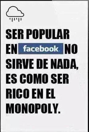 Ser popular en Facebook